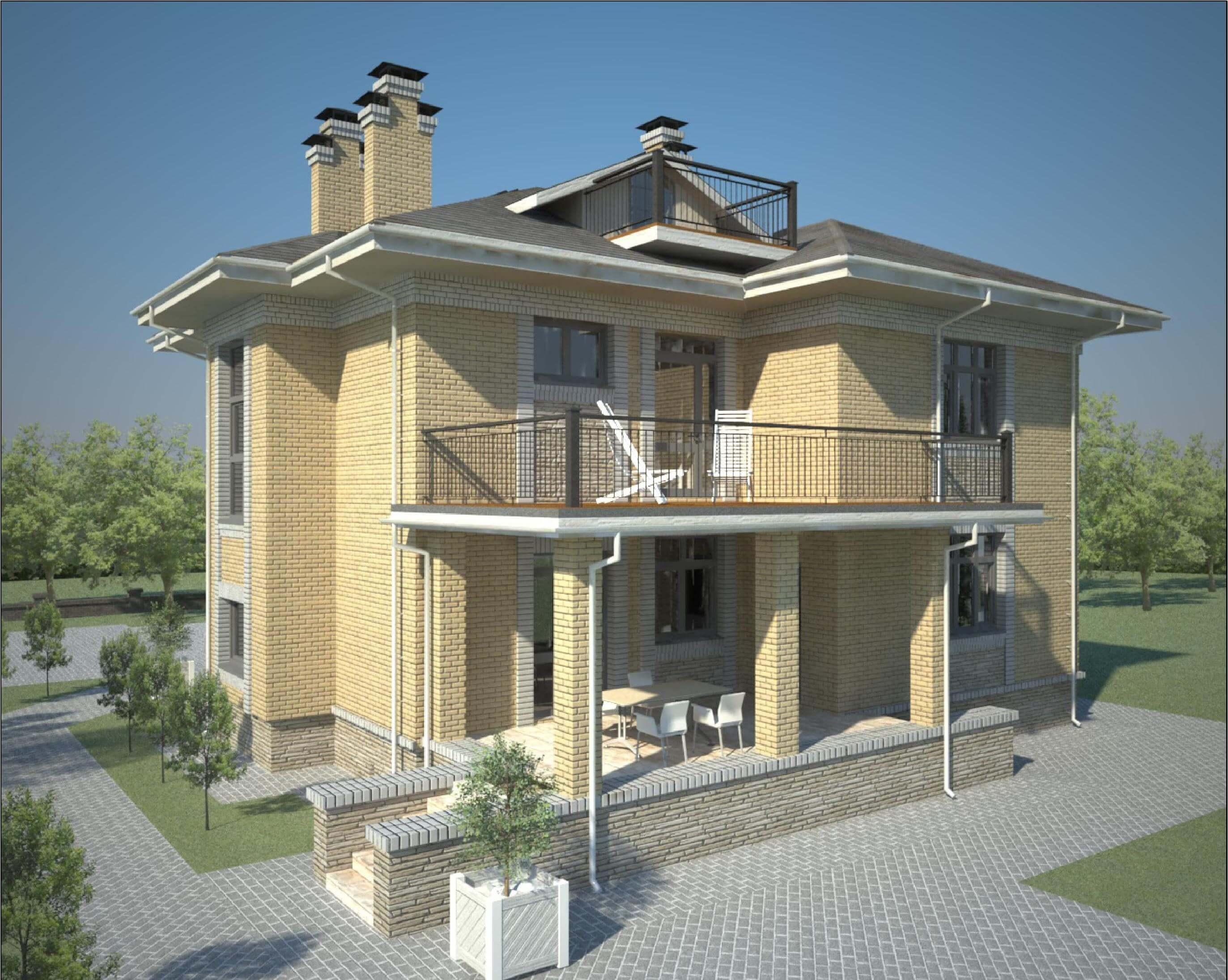 Проекты двухэтажных домов и коттеджей бесплатно фото